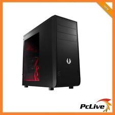 NEW Bitfenix Black Comrade ATX Case with Window USB 3.0 Quiet Computer Mid Tower