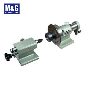 PF70/5C Spin Index with Tail Stock FreeDelivery   Lathe Mill Collet Fixture