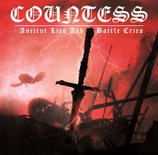 COUNTESS - Ancient Lies & Battle Cries CD Bathory Venom Faustcoven Manowar Hail