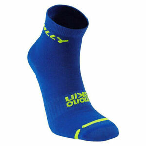 Hilly Monoskin Lite Anklet Running Socks Cobolt/Fluo Yellow *NEW*