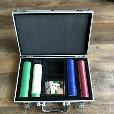 Cardinal's Texas Hold 'Em Tournament Poker Set - Playing Cards, Chips, & Case