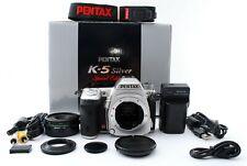 Pentax k-5 DSLR Limited Silver (Shutter 3279) + 40mm Limited lens [Exc+] #798A