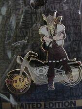 HARD ROCK CAFE*HOLLYWOOD,CALIFORNIA*VIKING BIKER*PIN*NEW/CARD