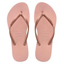 Havaianas Slim Logo Pop up Ballet Rose Jandal - Size 37/38 BR
