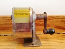 Vintage 1920s Chicago Automatic Pencil Sharpener Pencil Sharpener Co Desk, Wall