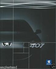 Auto Brochure - Peugeot - 407 Coupe - c2006 - FRENCH language (AB837)