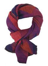 Bufanda Púrpura Azul Violeta Ella Jonte Pañuelo Mujer Otoño de Invierno Suave