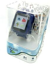 itouch Play Zoom Kids Smartwatch Games Camera Interactive Blue Rubber Band