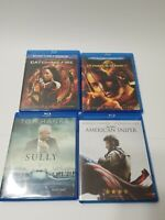 4 Blu-ray Lot Hunger Games, Sully, American Sniper
