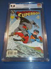 Superboy #9 1st King Shark Key CGC 9.8 NM/M Gorgeous Gem Wow