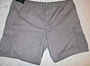 ROUNDTREE & YORKE Casuals big mens light brown cotton cargo shorts size 52 NWT