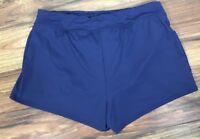 Lands' End Women's Size 8P Swim Mini Short with Tummy Control Swim Bottoms