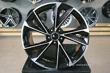 New 20 inch 5x112 RS7 design black polished wheels for Audi Mercedes