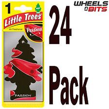 24x Magic Tree Little Trees Passion Scent Fragrance Car Van Air Freshener