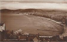 View Over The Bay & Fields Beyond, LLANDUDNO, Caernarvonshire RP