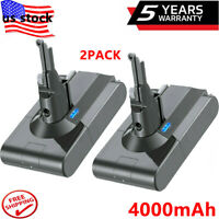2X Battery For Dyson V8 21.6 4.0Ah Animal Cordless Vacuum Handheld Cleaner SV10