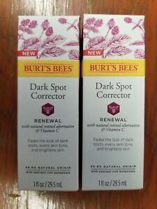 Burt's Bees Dark Spot Corrector: Renewal w/ Vitamin C (1 oz) - Lot of 2