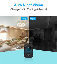 HD Mini Body Worn Camera Wireless Security Motion Fit Cars Standby Webcam
