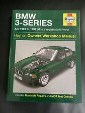 Haynes 3210 BMW 3-Series 1991-1999 Owners Workshop Manual