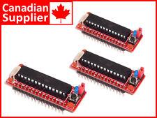 3 x Atmega328P Arduino Uno and Nano comp. Module for Bread Board Prototyping
