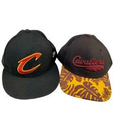 Cleveland Cavaliers Two Hat Cap 71/8 Fitted Snapback New Era 47' Brand Hardwood