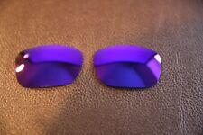 PolarLenz Polarized Purple Replacement Lens for-Oakley TwoFace Sunglasses