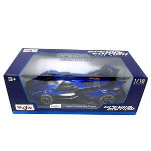 Maisto DieCast Lambo V12 Vision Gran Turismo 1/18 Scale Model Toy Car