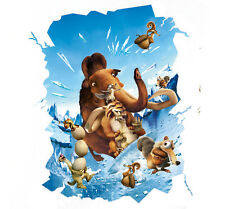 Ice Age Manny 3D Wall Stickers Room Stereoscopic Mural Decals Home Decor Art