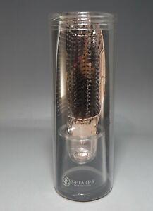 S·Heart·S Scalp Brush World Model Short Pink Gold Hairbrush Made in Japan