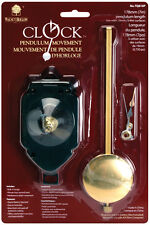 "Walnut Hollow Pendulum Clock Movement 7"" Replacement (Use with 3/4"" surface)"