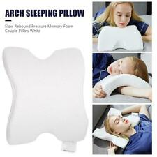 Arch U-Shaped Curved Memory Foam Sleeping Pillow Rebound Pressure Couple Pillow