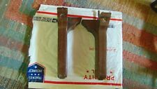 "Chair Legs With  7"" Long  Plastic Industries Inc.  1983  R & L  on Each One"