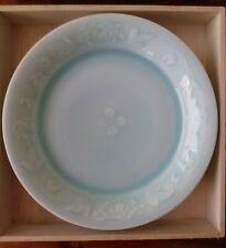 Kaiji Tsukamoto Kaiyama Kiln porcelain plate - flower pattern - new