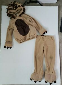 Toddler Kids Old Navy Lion Costume 4T 5T Outfit Set Warm