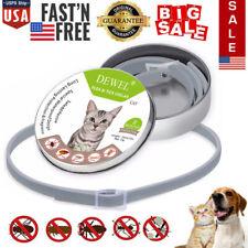 Dewel Cheaper than Seresto! Flea & Tick Collar For Small Large Cats 8 Month Usa