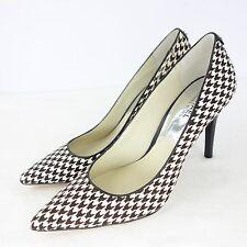 MICHAEL KORS MK Zapatos mujer De Tacón 9 40 Piel Tacones altos pata gallo NP 165