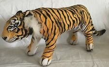 Vintage Applause Determined Productions Plush Bengal Tiger Stuffed Animal 1990