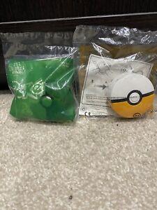 McDonalds Happy Meal Pokemon Toy X2