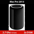 2013 Mac Pro  | 2.7GHz 12-Cores | Dual AMD D500 | 128GB RAM | 2TB NVMe PCIe SSD