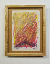 Joan Mitchell drawing on paper