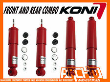 KONI ADJ FRONT & REAR SHOCK ABSORBERS FOR TOYOTA HILUX LEAF/ LEAF 4/1979-11/1983