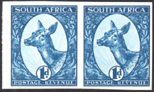 South Africa circa 1929 Booysen ESSAY in deep blue, mint