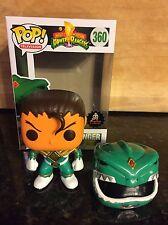 Funko Pop! Green Ranger Tommy Oliver Morphin Power Rangers *Unmasked Custom