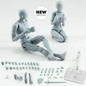 Drawing Figures for Artists Action Figure Model Human Mannequin Man/Woman Kit US