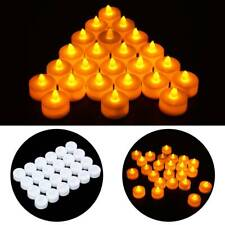 24x LED Tea Light Flameless Candles Tealights Battery Operated For Party Wedding