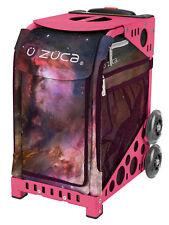 Zuca Bag Galaxy Insert & Pink Frame w/Flashing Wheels - Free Seat Cushion