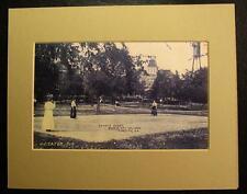 WOMEN ON TENNIS COURT, BESSIE TIFT COLLEGE, FORSYTH, GEORGIA, GA., Print