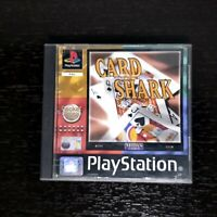 Card Shark Playstation 1 PS1 Complete European PAL Tested Very Good Condition