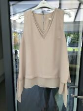 WOMEN'S RIVER ISLAND SLEEVELESS TOP SIZE UK 16 GOOD CONDITION!!
