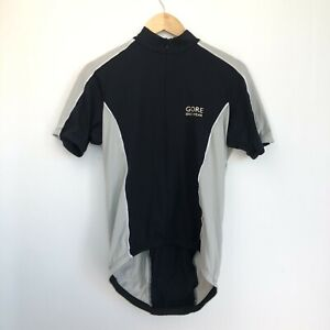 Gore Bike Wear Cycling Jersey - Short Sleeve - Large L - Black - Cycle Top Shirt